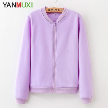 Trendy 2018 new solid color casual women's clothing jacket winter warm long sleeves large loose knit cardigan coat fashion AT_94_13