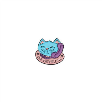 End Catcalling Pin