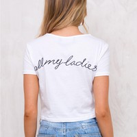 Minkpink All My Ladies Tee