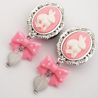Glamsquared — Bunny Love Cameo Dangle Plugs