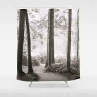 Through the Trees Shower Curtain by Dena Brender Photography