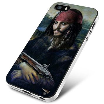 Johnny Depp Mona Lisa iPhone 5 | 5S | 5SE Case Planetscase.com