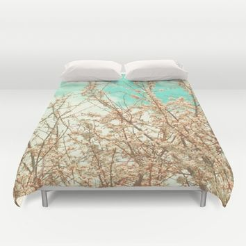 Blossoms Duvet Cover by ARTbyJWP