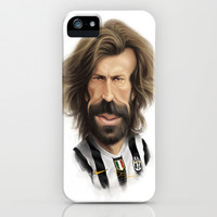 Andrea Pirlo - Juventus iPhone & iPod Case by Sant Toscanni