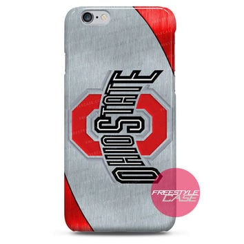 Ohio State Football Metal  iPhone Case 3, 4, 5, 6 Cover