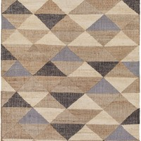 Seaport Geometric Area Rug Neutral