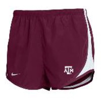 Texas A&M Aggies Nike Womens Maroon Tempo Shorts