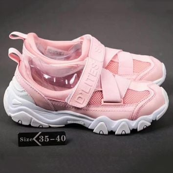 Skechers Fashion Women Sports Running Shoes Full Pink G-SSRS-CJZX