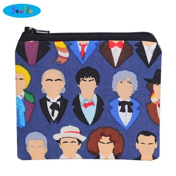 Doctor Who Coin Purse-Doctor Who Bag-Change Purse-Zip Bag-Coin Bag-Coin Pouch