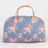 Chambray Floral Duffle Bag 211815800 | Luggage | Tillys.com