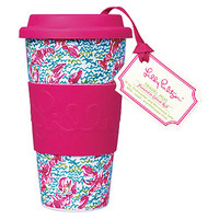 Lilly Pulitzer Lobstah Roll Travel Mug - Lobstah Roll