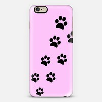 Cats Paws Pink iPhone 6 case by Nicklas Gustafsson | Casetify