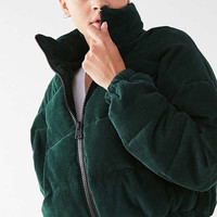 UO Corduroy Puffer Jacket | Urban Outfitters