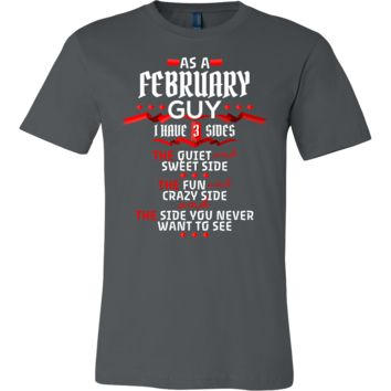 February Guy,Crazy, Sweet and Fun Birthday B Day Gift T-Shirt