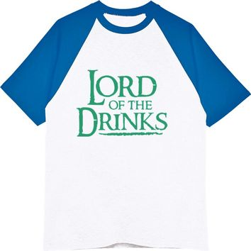 Lord Of The Drinks - Beer/Drinking Men's Tee