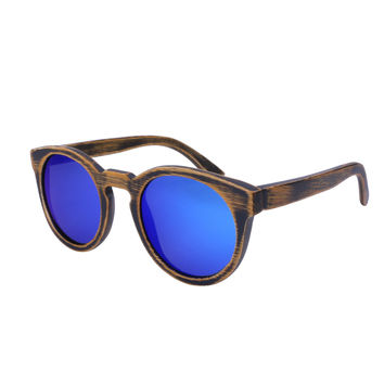 Distressed Wooden Sunglasses