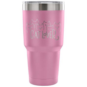 xx Cat Lover 30 oz Tumbler - Travel Cup, Coffee Mug