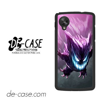 Realistic Pokemon Gengar For Ipod 5 Case Phone Case Gift Present