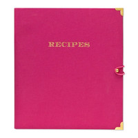 Raspberry Recipe Binder