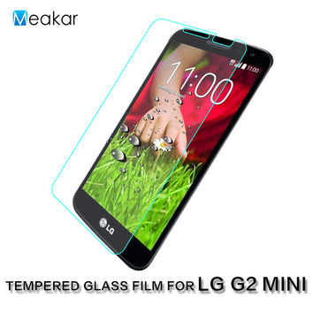 0.3mm 2.5D 9H Glass 4.7For LG G2 mini Case Tempered Glass Film Screen Protector For LG G2 mini D620 Phone