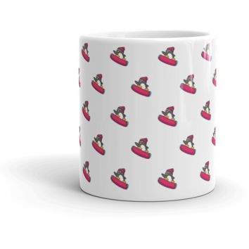 Penguin All-Over Mug | Funny Zoo Animal Cup | The Jazzy Panda