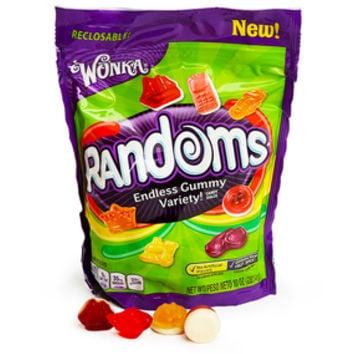 Wonka Randoms Gummy Candy: 10-Ounce Bag