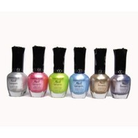 Kleancolor - 6 Awesome Nail Lacquers - Set 6