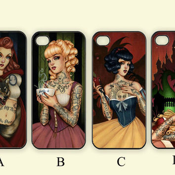 Tattoo Little Mermaid ,Custom Case, iPhone 4/4s/5/5s/5C, Samsung Galaxy S2/S3/S4/S5/Note 2/3, Htc One S/M7/M8, Moto G/X
