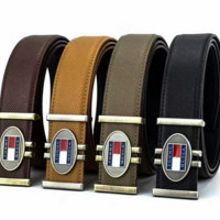 TOMMY FASHION GOLDEN SILVER BELT FOR MEN AND WOOMAN-A
