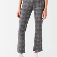 UO Casey Plaid Kick Flare Pant   Urban Outfitters