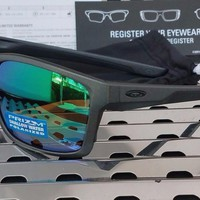 Authentic New Oakley 9264-20 MAINLINK Sunglasses Steel w/Prizm Shallow H2O Polarized