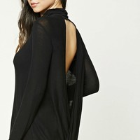 Twisted Open-Back Top