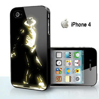 Michael Jackson gold Dance - for iPhone 4 case, iPhone 5 case, Samsung S2, Samsung Galaxy s3 and Samsung Galaxy s4