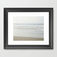 Sunny Waves Framed Art Print by Pure Nature Photos