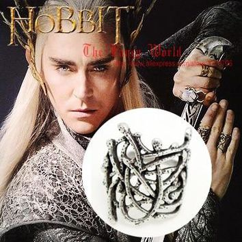 Hobbit Thranduil Ring Mirkwood elf king nest ring Legolas father lord of rings The Desolation of Smaug
