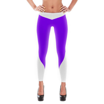 Purple Super Villan Leggings