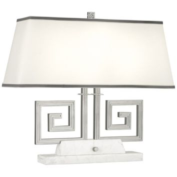 Mykonos Double Table Lamp in Various Finishes design by Jonathan Adler – BURKE DECOR