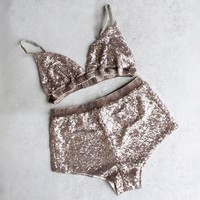 somedays lovin - glistening night sequin separates