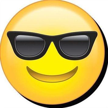 Emoji Sunglasses Funky  Chunky Magnet, More Humor by NMR Calendars