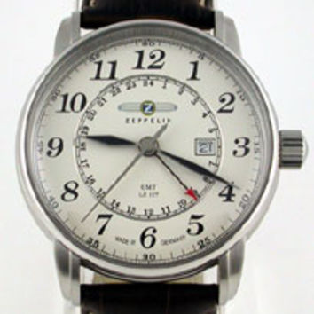 Graf Zeppelin LZ127 GMT Watch 7642-5