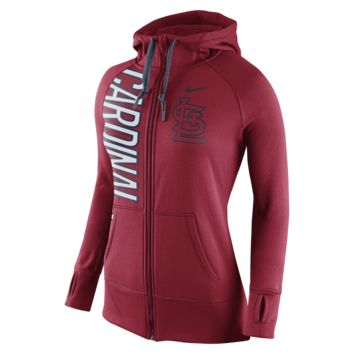 Nike Dri-FIT Obsessed Full-Zip (MLB Cardinals) Women's Hoodie