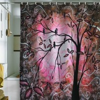 Madart Inc. Cherry Blossoms Shower Curtain, 69 x 72