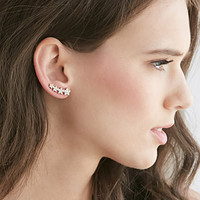 Rhinestoned Ear Pins