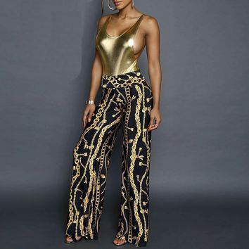 Gold Link Pants