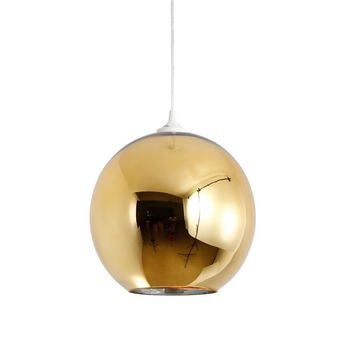 Modern Gold Reproduction Tom Dixon Beat Shade Mirror Ball Pendant Lamp Ceiling Light