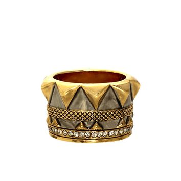 House of Harlow 1960 Jewelry Conquistador's Crown Ring