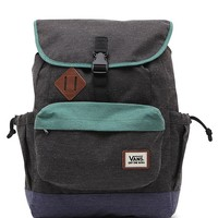 Vans Coyote Hills School Backpack - Mens Backpacks - Green - NOSZ