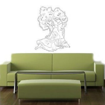 Alice In wonderland Tea Party Wall Art Sticker Decal 004