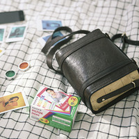 Leather Instax Camera Bag v2