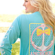 Anchored in the South Long Sleeve - Jadelynn Brooke